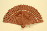 Wooden Brisé Fan; circa 1960s; LDFAN1986.3