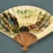 Folding Fan; c. 1980; LDFAN2003.371.Y
