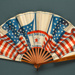 Folding fan advertising Red Star Line shipping company; Eventails Chambrelent; c. 1900; LDFAN2003.136.Y