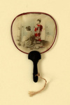 Miniature Fixed Fan; c. 1900; LDFAN2003.390.Y