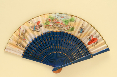 Folding Fan; c.1960s; LDFAN1994.30