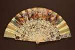 Folding Fan; c. 1860; LDFAN2003.9.Y