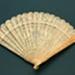 Brisé Fan; c. 1840; LDFAN2012.27