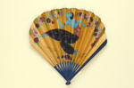 Folding fan advertising Chandor perfume for L.T. Piver and Souvenir Vichy Etat; Maquet; c.1913; LDFAN2007.7.HA