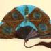Tortoiseshell and Feather Fan; c. 1920; LDFAN1996.37.1 & LDFAN1996.37.2