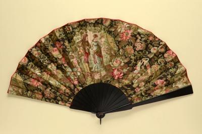 Folding Fan; c. 1890; LDFAN1992.14