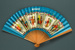 Advertising fan for British Overseas Airways Corporation (BOAC) - Speedbird; Adelman, K. M; c. 1950s; LDFAN1991.45