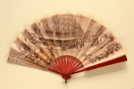 Folding fan advertising Brasserie Universelle. ; Chambrelent & Croix; c. 1910; LDFAN2011.33