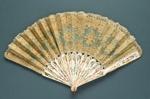 Folding Fan; c. 1870s; LDFAN2003.15.Y
