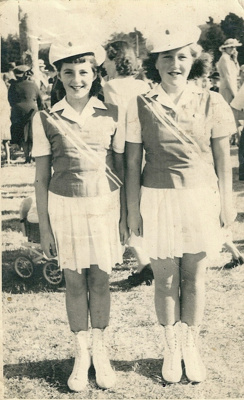 Marching Girls; McPhail, Les; 1950 ; GM-KC-0020.A