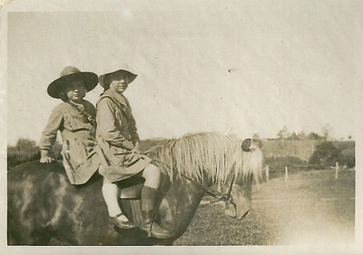 Margaret and Joyce Atchison ; unknown; c1920; GM-KC-0011.A