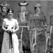 Bride on the Suffragette Steps; Gerald Shacklock; 19th January 2008; GM-KC-0015.A