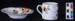 Coffee can and saucer ; H. M. Williamson & Sons; c. 1928; MAMUS16/1a-b