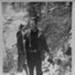 Prince Helfrich catches a bobcat; 1930s; McKenzie River-Dave Helfrich-068