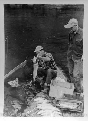 Prince Helfrich; 1940's; McKenzie River-Dave Helfrich-085