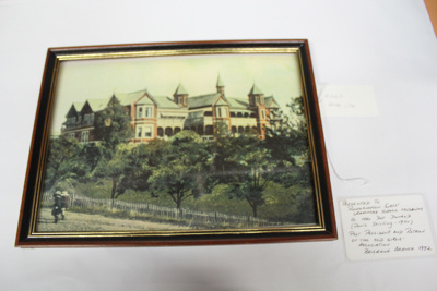 Photo of Rockhampton Girls Grammar School  (Paterson House); est. 1908; RGGS 2014/74