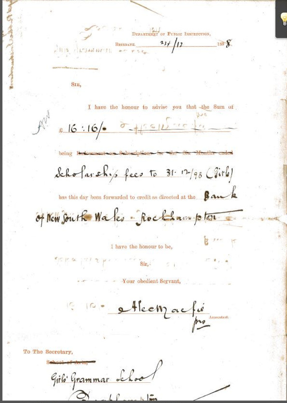 Letter From Department Of Public Instruction To Mr George Gw Shaw