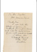 Letter from Walter Kent, Caretaker to Board of Trustees.; Walter Kent; 1893; RGGS 2014/199