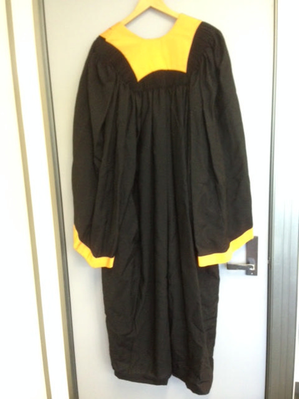 College gown; Raymond W. Bredin, Robemaker; 1950s; 2013.740 on eHive