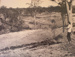 July/August 1966 - The Dam site just after clearing of the trees had commenced; P4.1