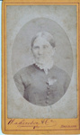 Photograph of Mrs Langdon, local resident of the Redland District; Mathewson & Co Photographers, Brisbane; circa 1850 - 1899; P133