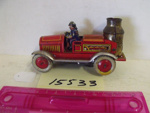Toy mechanical fire engine; R15533