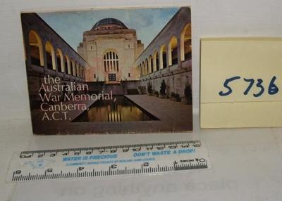 Souvenir folder - Canberra; Steinward Productions; R05736