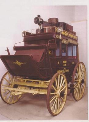 Coach - Cobb & Co; Fergusson & Co ?; 1900; R01846