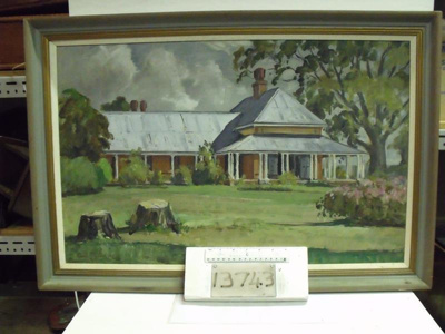 Oil painting of Ormiston House; 1968; R13743