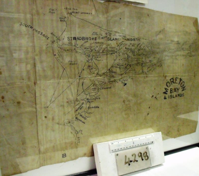 Map, military, 1940, Moreton Bay; SGT. C. Bridges; 1940; R04298