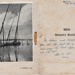 Photograph of Egyptian Feluccas (sailing boats) on the Nile River; Inside Card; P132.1