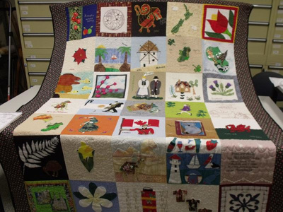 Quilt - Prize winning 'Harmony Day'; 2007; R15685