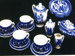 Willow Pattern Toy Teaset; P2216
