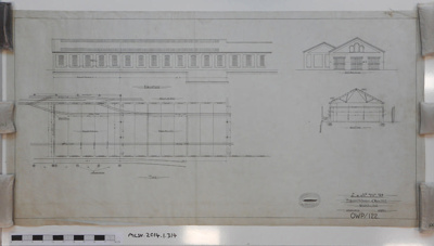 L.&.N.W.R.CO. Proposed Extension of Saw Mill; 13.02.1900; MILSH:2014.1.314