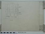 DETAILS OF REAR END FRAMING FOR MOBILE WORKSHOP MOUNTED ON BEDFORD K.G. CHASSIS; 26.01.1973; MILSH:2014.1.939