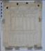 Great Western Railway Arrival Train Indicator Board - 1/4 Size.; 16.10.1902; MILSH:2014.1.48