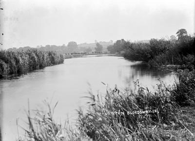 The River at Newton Blossomville; Kitchener, Maurice; 1925 to 1936; KIT/17/131