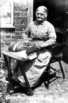Harriet Ann Cooper, age 73, making