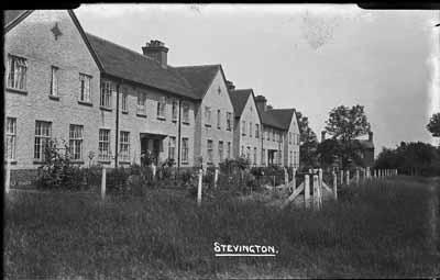 Council Houses, Stevington; Kitchener, Maurice; 1925 to 1936; KIT/25/1432
