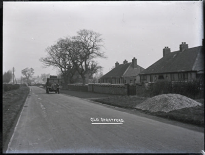 Unknown road, Old Stratford; Kitchener, Maurice; 1925 to 1936; KIT/20/1157
