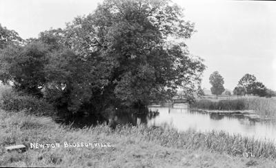 The River at Newton Blossomville; Kitchener, Maurice; 1925 to 1936; KIT/17/132