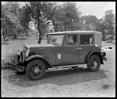 1932 Rover Pilot 4-Door All-Weather