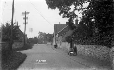 Roade, Northamptonshire; Kitchener, Maurice; 1925 to 1936; KIT/23/1343