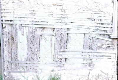 Wattle & Daub Wall; Thomas E. Spencer; 2121
