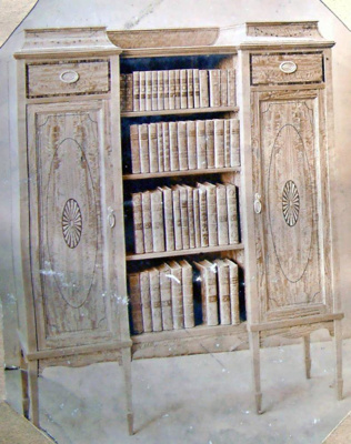 Bookcase/Cabinet 2436; Shapland and Petter HLF; 2195