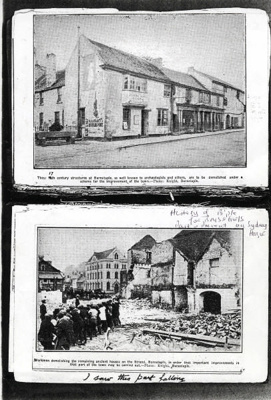 17th Century Buildings for Demolition in Strand; Shapland and Petter HLF; 1467