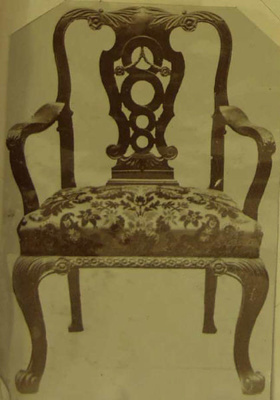 Armchair; Shapland and Petter HLF; 5652