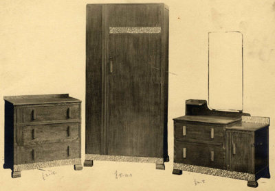 Bedroom Suite 2145; Shapland and Petter HLF; 70