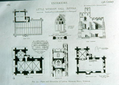 Little Wenham Hall; Thomas E. Spencer; 2123