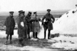 Officers in the Snow; Unknown; 1940-1945; 6043